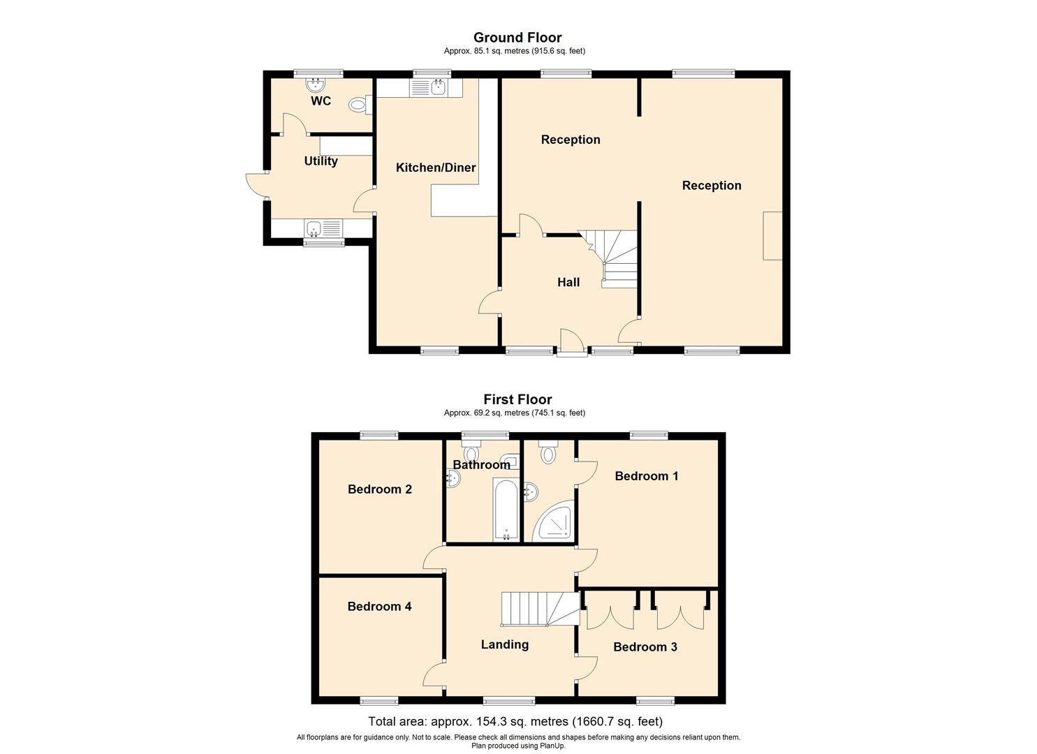 4 Bedroom Detached House For Sale - EASTWOOD , HOUSE , WISWELL.jpg